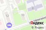 Схема проезда до компании Фрол Мастер в Москве