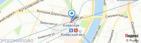 Урюк на карте Москвы