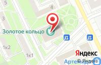 Схема проезда до компании Системы Визуальных Коммуникаций в Москве