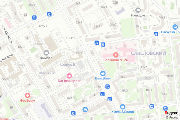 Ремонт телевизоров Петровско Разумовский проезд на яндекс карте