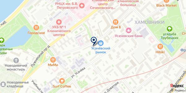 Юридическое агентство на карте Москве