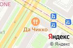 Схема проезда до компании Белая Русь плюс в Москве
