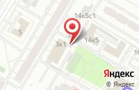 Схема проезда до компании Полиграф-М в Москве