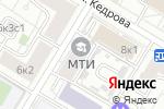 Схема проезда до компании МТИ в Москве
