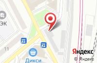 Схема проезда до компании Сириус в Подольске