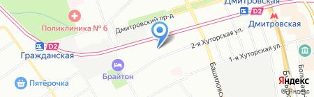 Технолоджи систем на карте Москвы