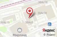 Схема проезда до компании Моллстрит в Москве
