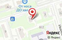 Схема проезда до компании Панкратиум в Москве