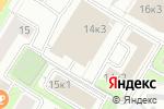 Схема проезда до компании Прямые инвестиции в Москве