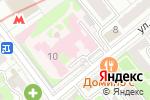 Схема проезда до компании Хоспис №1 им. В.В. Миллионщиковой в Москве