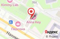 Схема проезда до компании Экопресс в Москве
