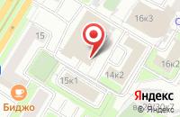 Схема проезда до компании РусЭнергоИнвест Групп в Москве