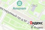 Схема проезда до компании Стать Севера в Москве