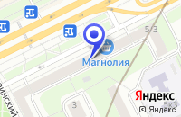 Схема проезда до компании МЕБЕЛЬНЫЙ САЛОН АРИАЛ в Москве