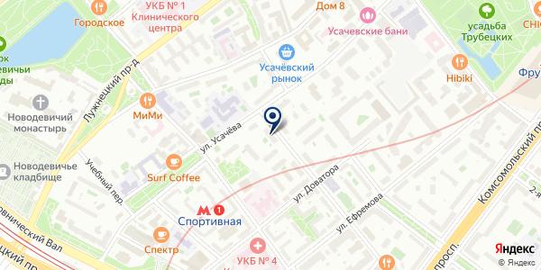 ТФ ILZA & MARE на карте Москве
