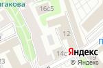 Схема проезда до компании Аф Консалт в Москве