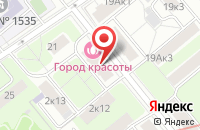 Схема проезда до компании Муравейник в Москве