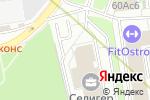 Схема проезда до компании Пунто Групп в Москве