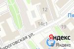 Схема проезда до компании GBA в Москве