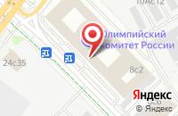 Схема проезда до компании Европейская Федерации Самбо в Москве