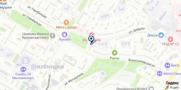 ПЛАНОВИК-6 на карте Москве