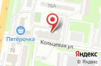 Схема проезда до компании Молодёжный в Подольске