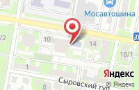 Схема проезда до компании Дом быта в Подольске