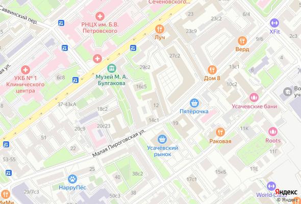 жилой комплекс Пироговская 14