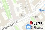 Схема проезда до компании ЦКР в Москве