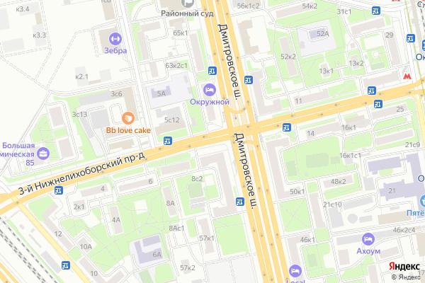 Ремонт телевизоров 3 й Нижнелихоборский проезд на яндекс карте