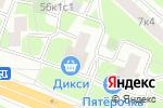 Схема проезда до компании ПРАВОФЛАНГОВЫЙ в Москве