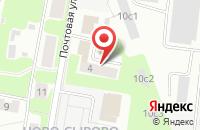 Схема проезда до компании HeadOver в Подольске