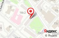 Схема проезда до компании Гном в Москве