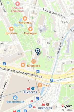КУЛЬТУРНО-ОЗДОРОВИТЕЛЬНЫЙ ЦЕНТР ДОСУГА ЮНОСТЬ на карте Москвы