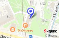 Схема проезда до компании АКБ МКБ РЕСУРС в Москве