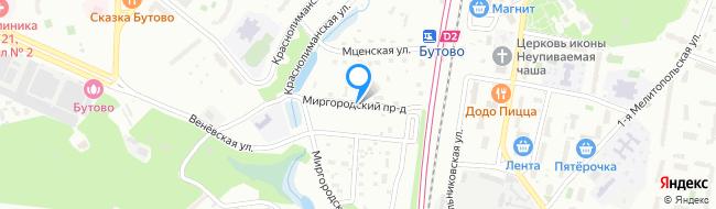 Миргородский проезд