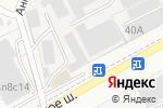 Схема проезда до компании Олива в Грибках