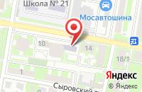 Схема проезда до компании Al-lex в Подольске