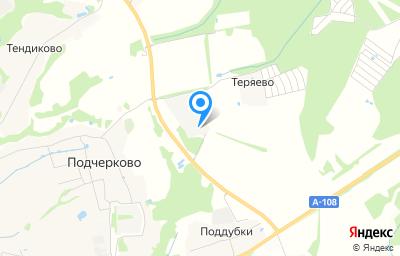 Местоположение на карте пункта техосмотра по адресу Московская обл, г Дмитров, д Теряево, д 50, пом 1