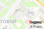 Схема проезда до компании Ваше родословие в Москве