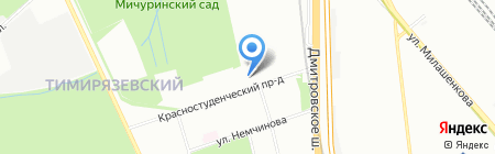 ОТА-Тревел на карте Москвы