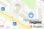 Схема проезда до компании Фруктовый №1 в Москве