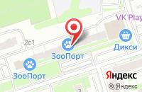 Схема проезда до компании Хайд в Москве