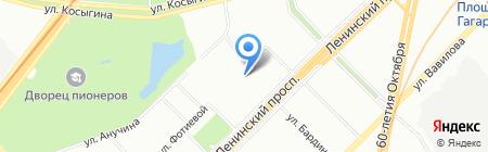 Вестник профсоюзов на карте Москвы
