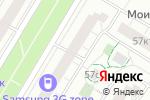 Схема проезда до компании 3G zone в Москве