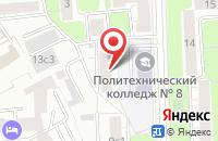 Схема проезда до компании Центр наукоемких инновационных технологий  в Москве