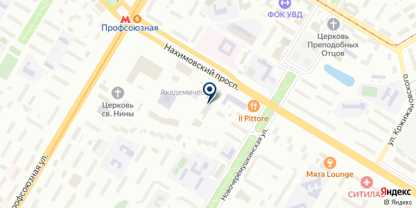 Университет Дмитрия Пожарского на карте Москве