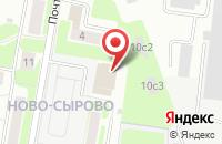 Схема проезда до компании PDK Drama в Подольске