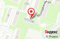 Схема проезда до компании Библиотека №12 в Подольске