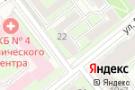 Схема проезда до компании Make me up в Москве